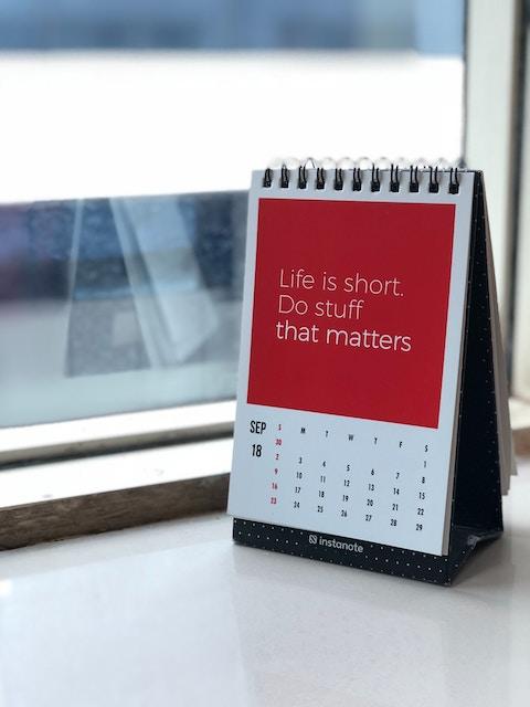 Do stuff that matters.