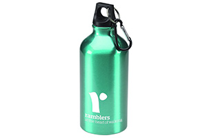 A Ramblers water bottle