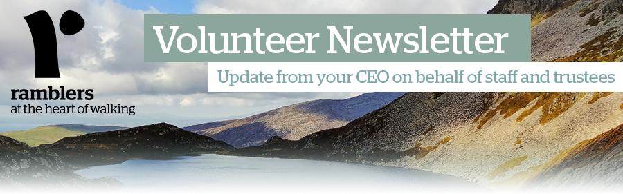Volunteer newsletter