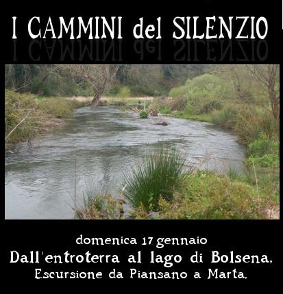 17 gennaio: Dall'entroterra al lago di Bolsena, escursione da Piansano a Marta