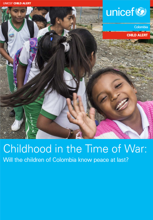 Childhood in the Time of War: Will the children of Colombia know peace at last?