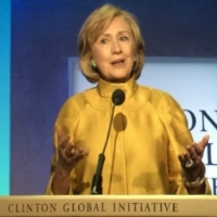 Hillary Clinton Announces CHARGE at CGI 2014