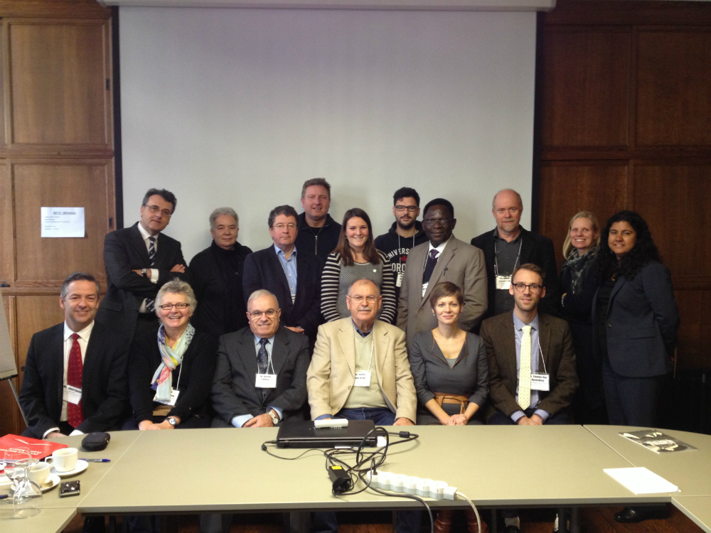 Participants from the expert meeting in Brussels, December 2013