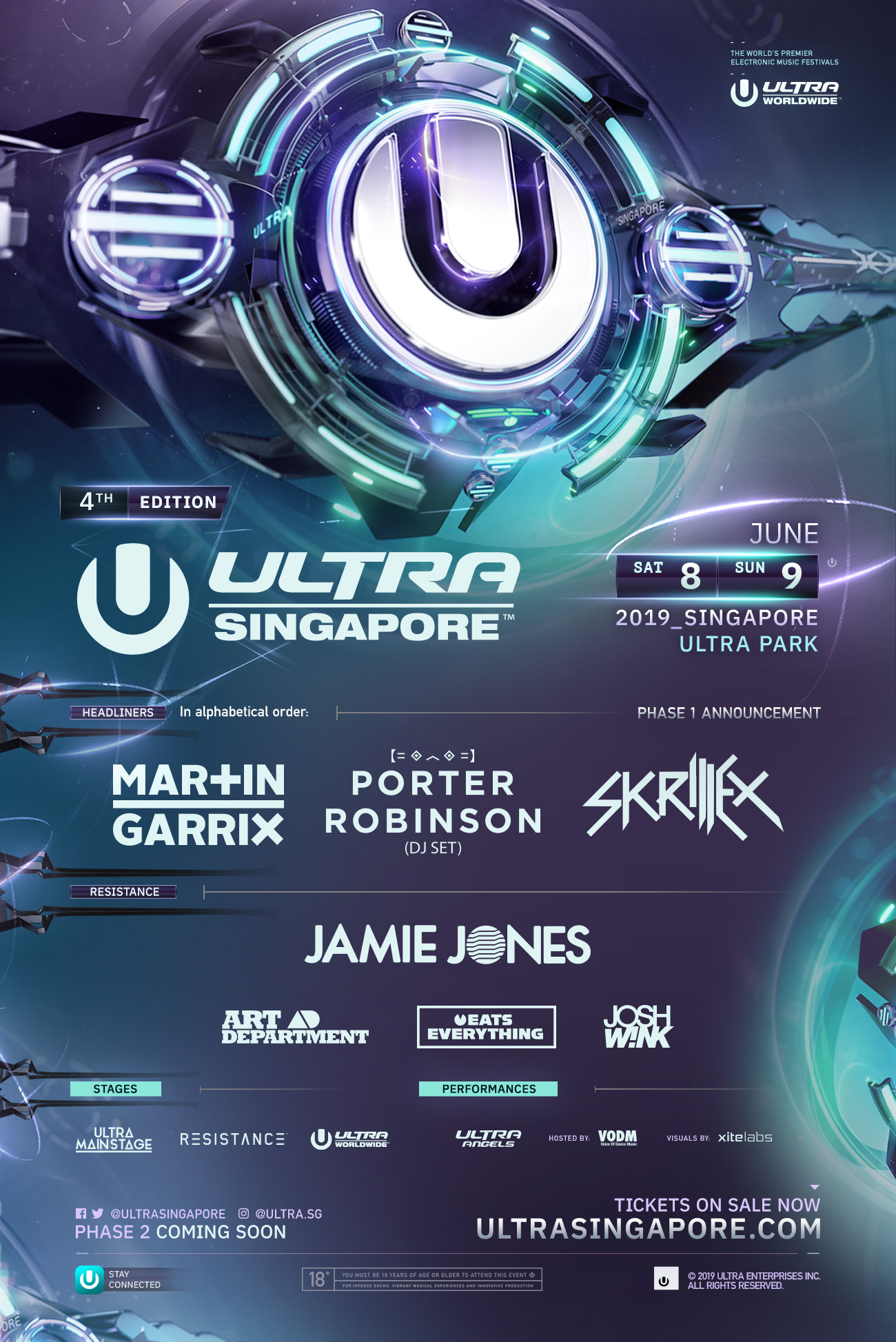 Ultra Singapore Phase 1