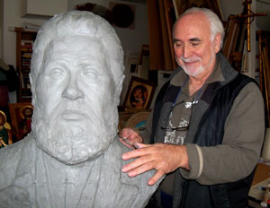 Petru Sculpting Spurgeon