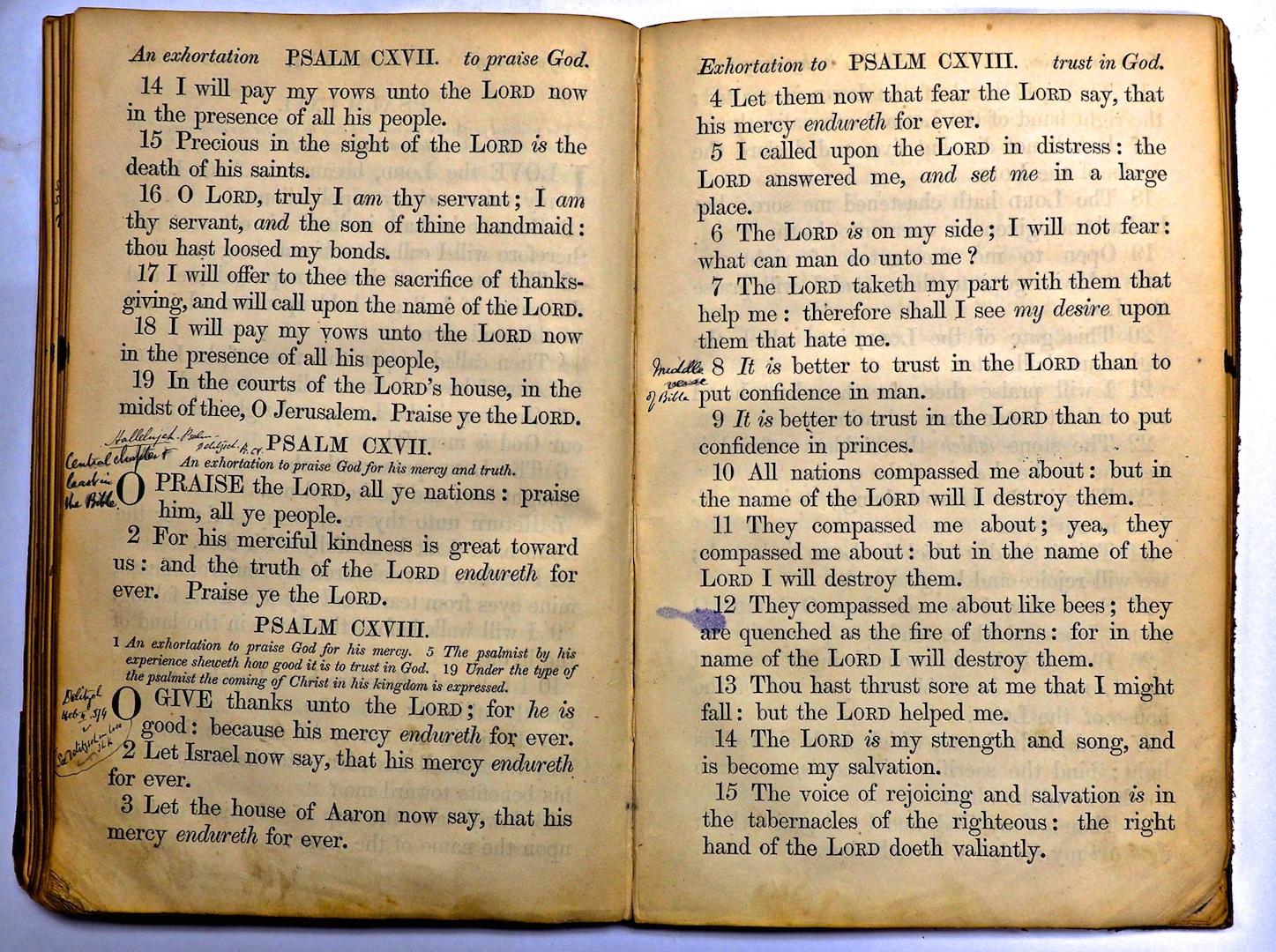 Psalter notations