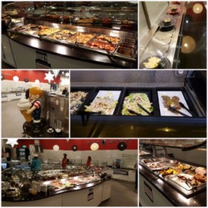 Just a small sample of the buffet meals on offer...