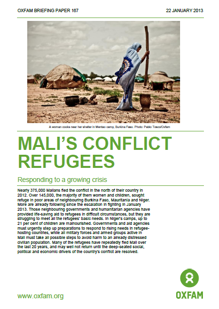 Mali' Conflict Refugees