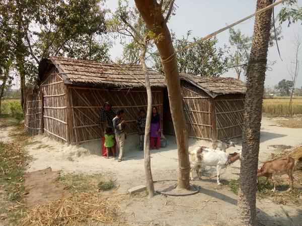 Gulnaaz's hut