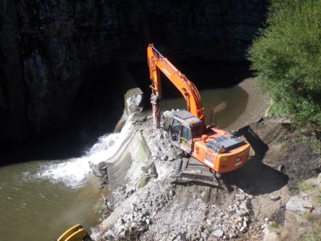 La Gotera dam removal