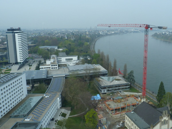 The UN Campus in Berlin from the 21st floor