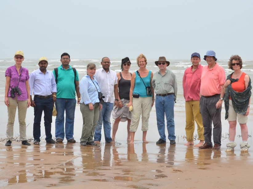 Supervisory council field trip in India