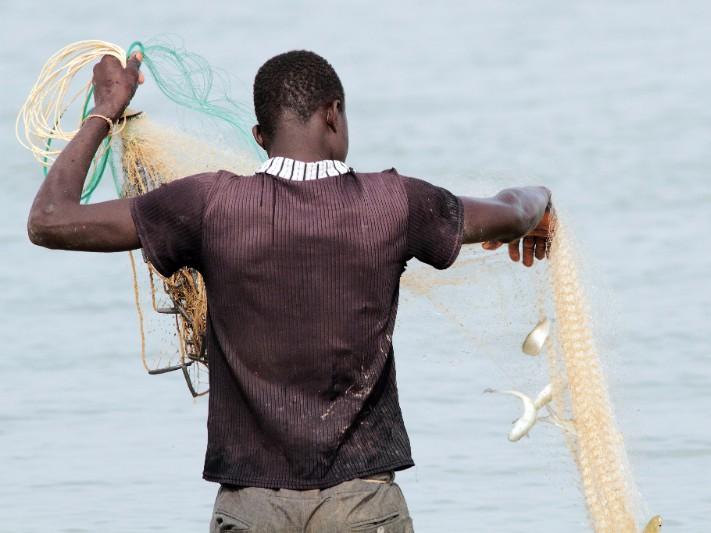Fisher, Senegal River