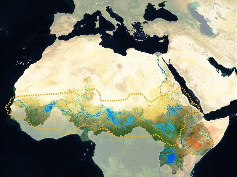The Sahel, Africa