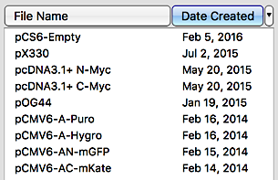 Sort a Collection by Date Created