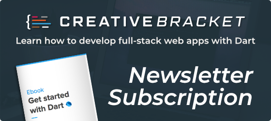 Creative Bracket Newsletter Subscription