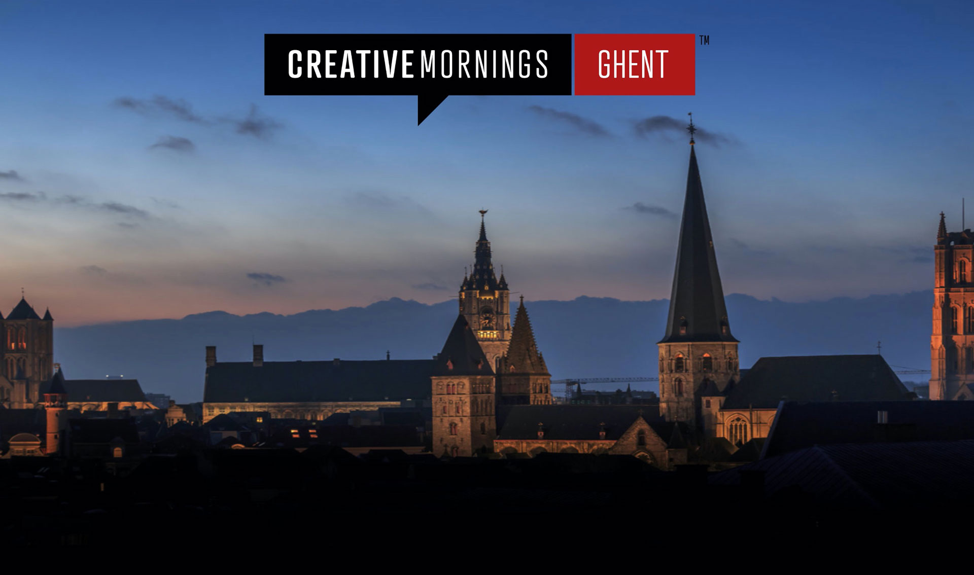 CreativeMornings has arrived to Ghent!