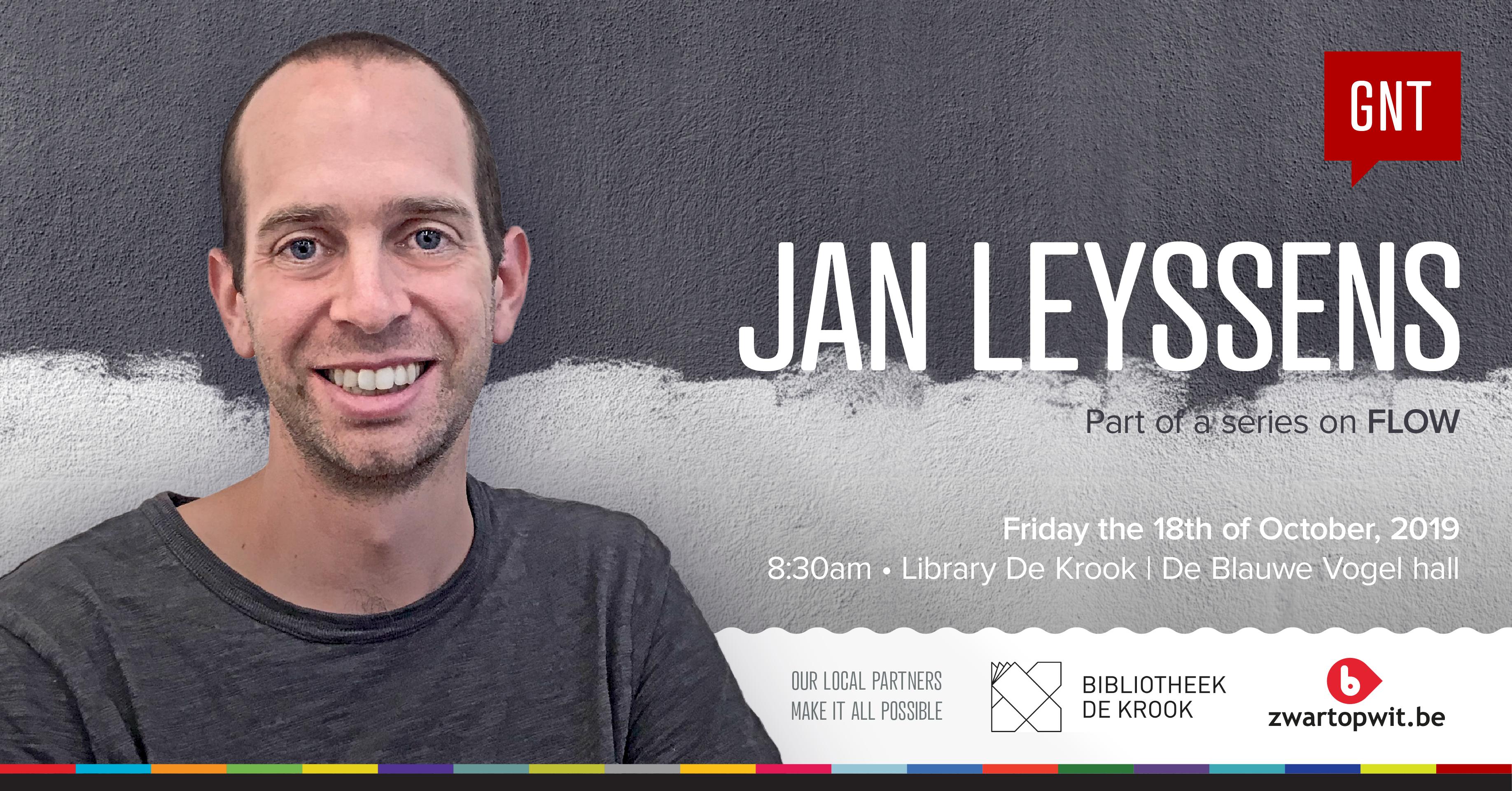 Jan Leyssens at CreativeMornings/Ghent