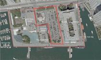 Map of York Quay Revitalization site area
