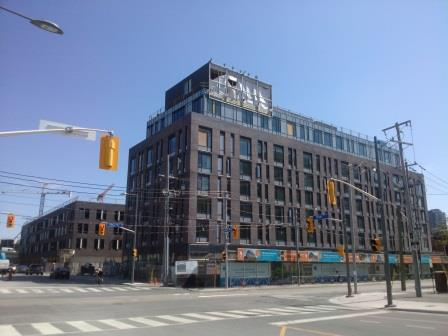 Toronto Community Housing building for seniors at 589 King Street East.