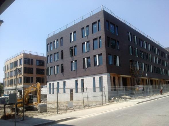 Toronto Community Housing's building for families on Lower River Street