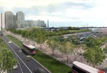 Rendering of revitalized Queen's Quay
