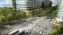 Queen's Quay rendering with streetcar