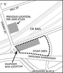 Municipal Class Environmental Assessment area map