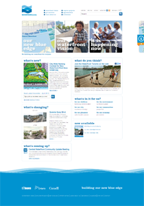 Waterfront Toronto Home Page