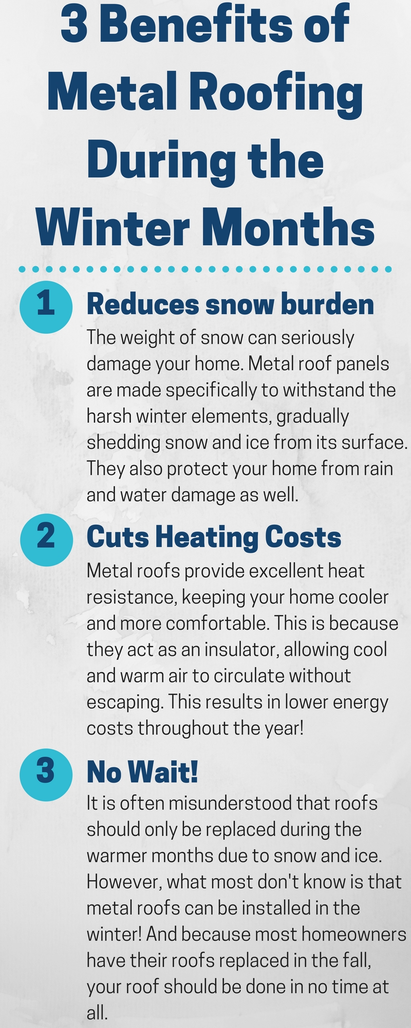 Three Benefits of Metal Roofing During the Winter Months - Image 2