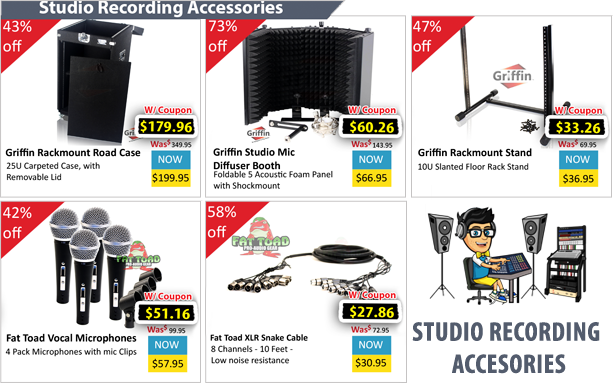Studio Recording Accessories