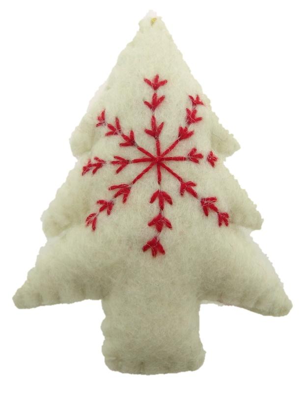 Handgemaakte kerstboom hangers