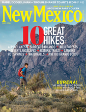 Cover of New Mexico Magazine May 2016