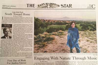 Nell in The East Hampton Star