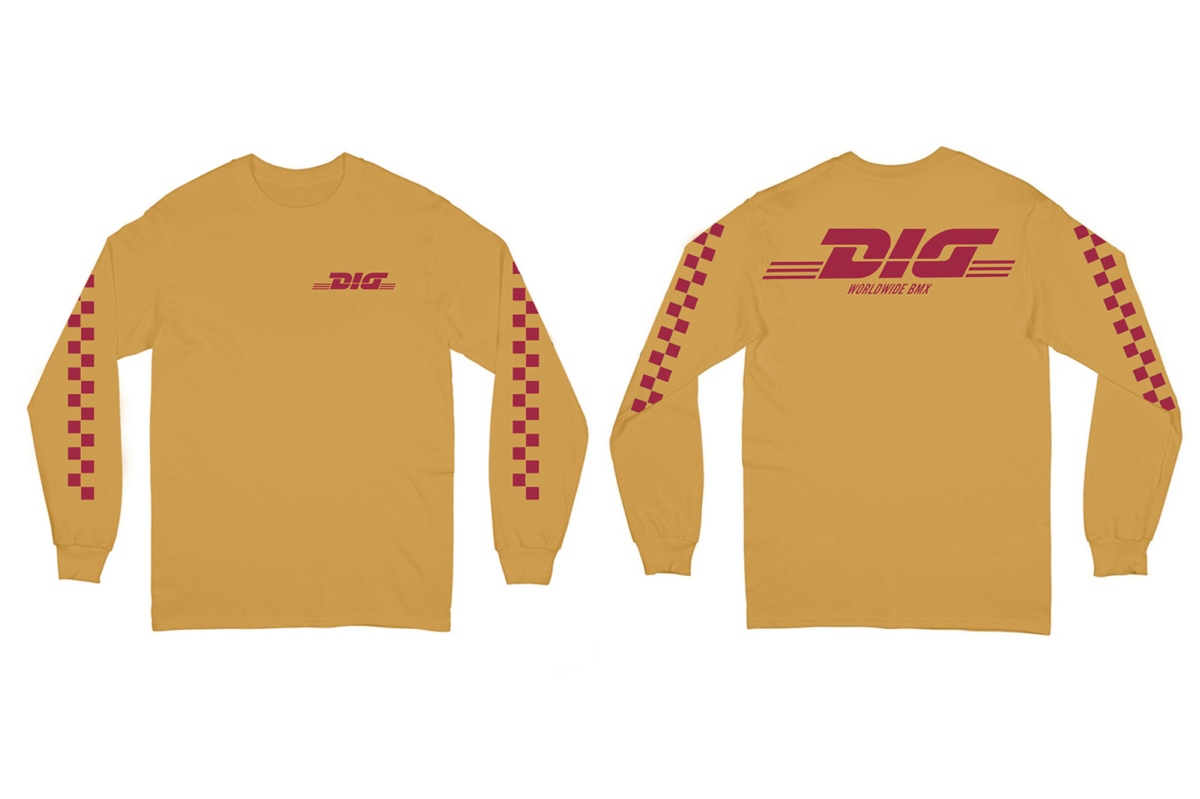 DIG x Cluut Long Sleeve Gold Large