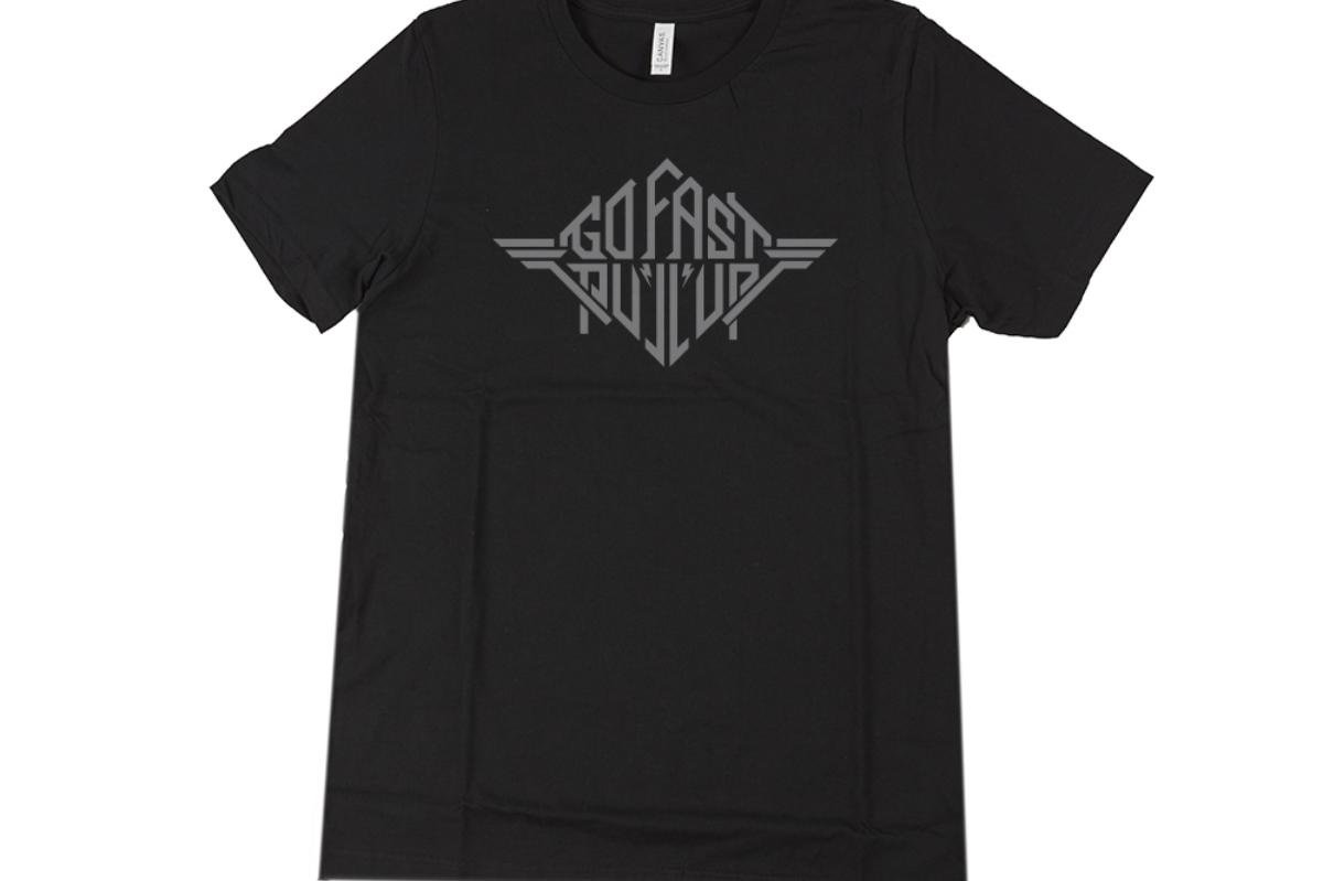 DIG Go Fast Pull Up Heavy Metal T-Shirt Black Medium