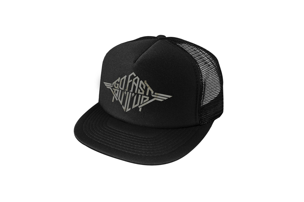 DIG Go Fast Pull Up Heavy Metal Trucker Hat
