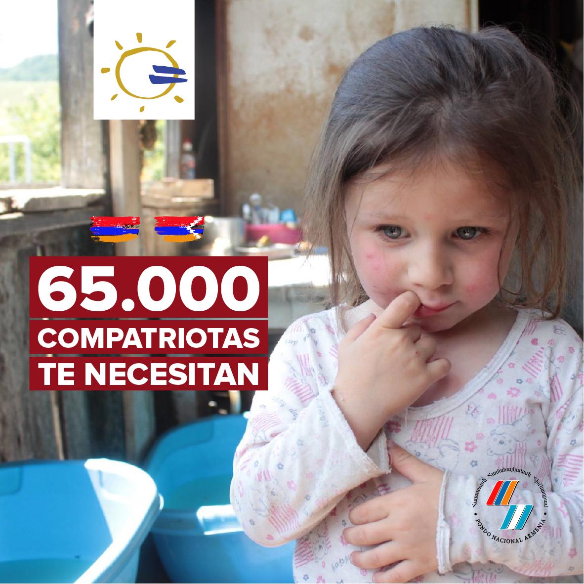 Armenia y Artsaj te necesitan