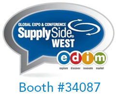 SupplySide West 2014. Booth #34087