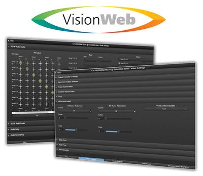 VisionWeb GUIs