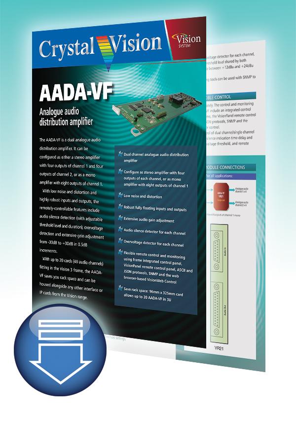 AADA-VF brochure