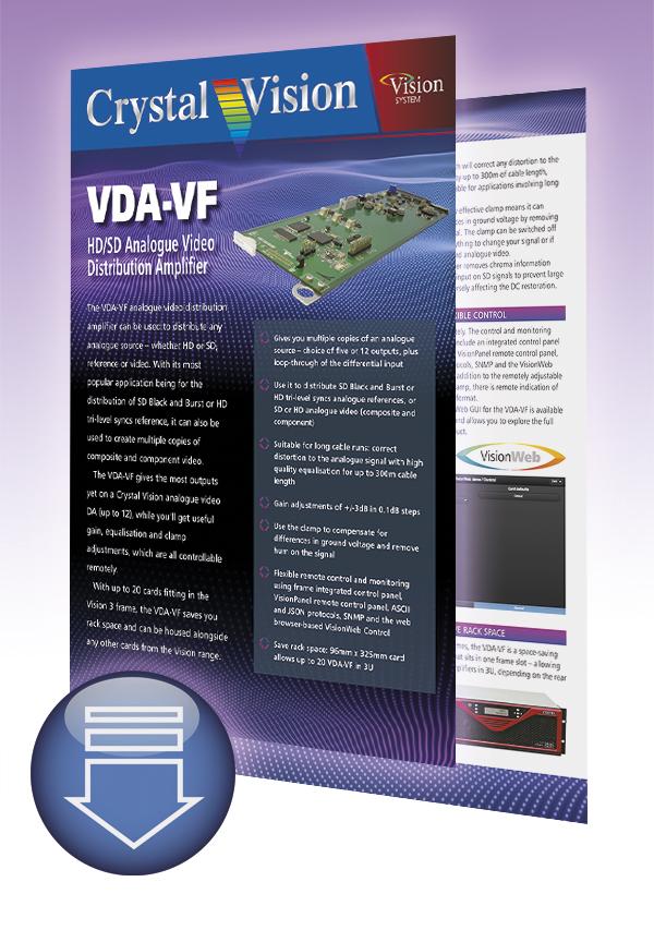 VDA-VF brochure