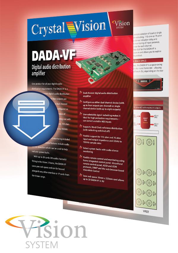 DADA-VF brochure