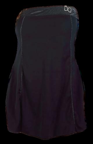 Dresskini badmode strapless voor grote maten