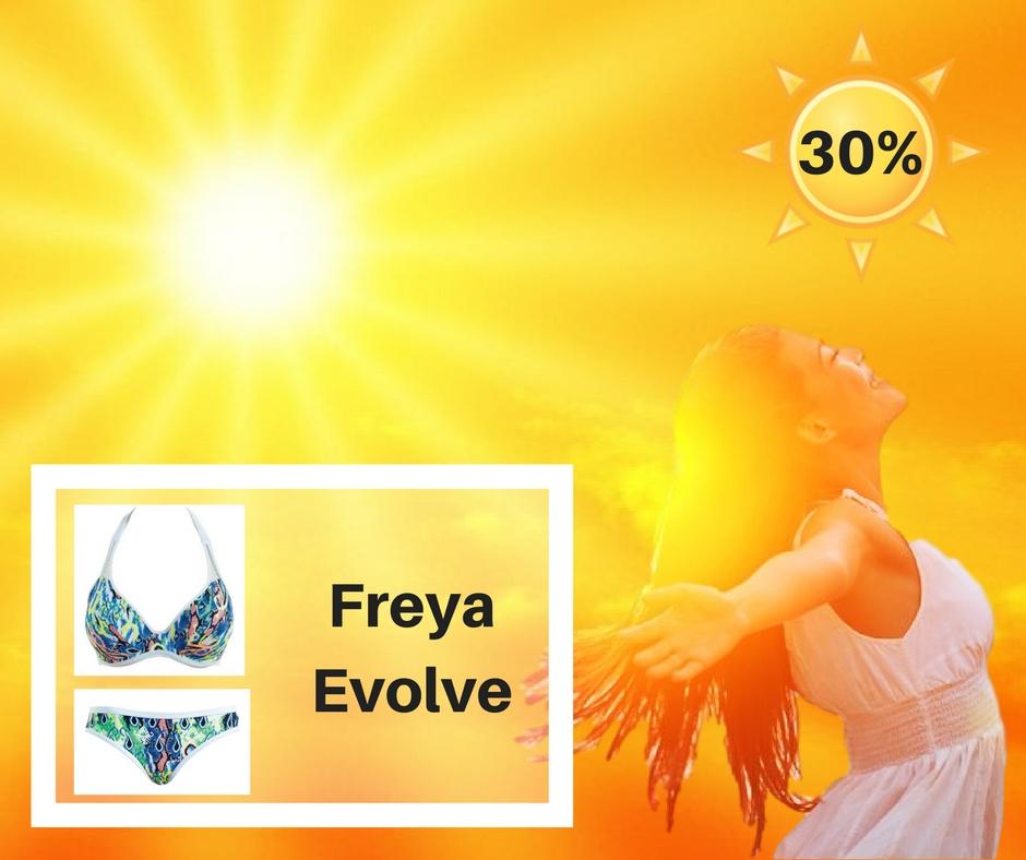 Freya Evolve in 't zonnetje