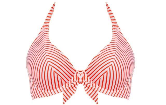 Freya bikinitop halter totally stripe