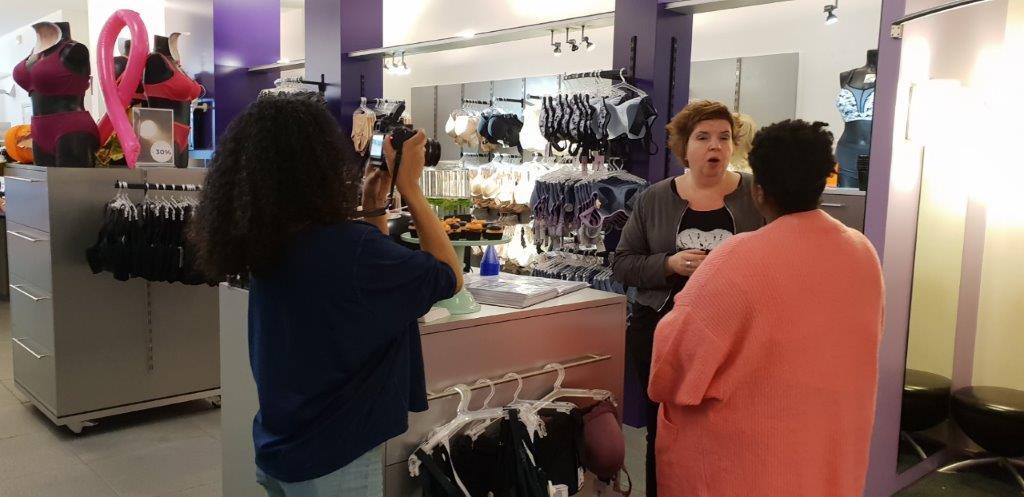 Blogger Suyen Frazer shopt bij Naron