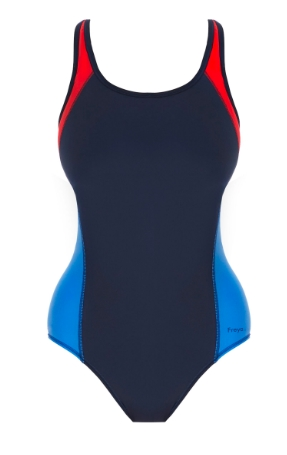 Freya swim badpak freestyle in navy