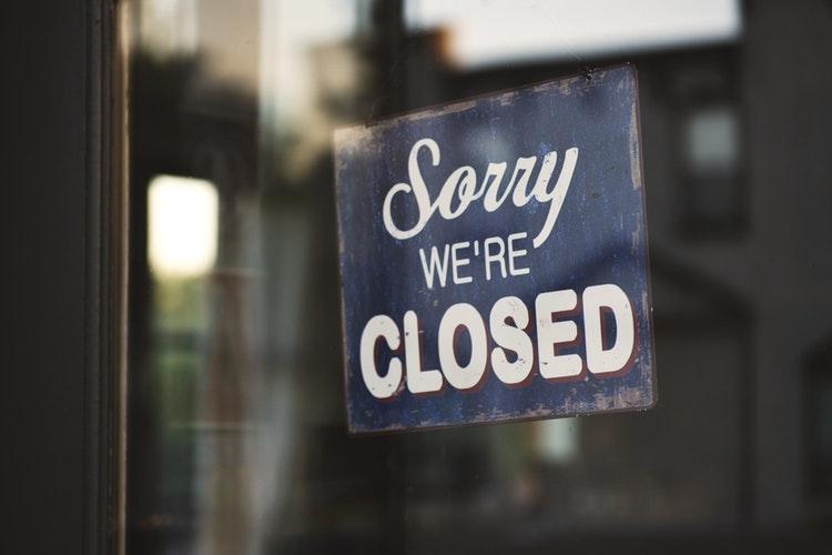 Naron maandag gesloten