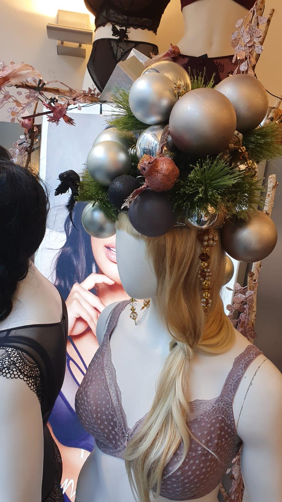 nieuwe etalage bij naron kerst sinterklaas december